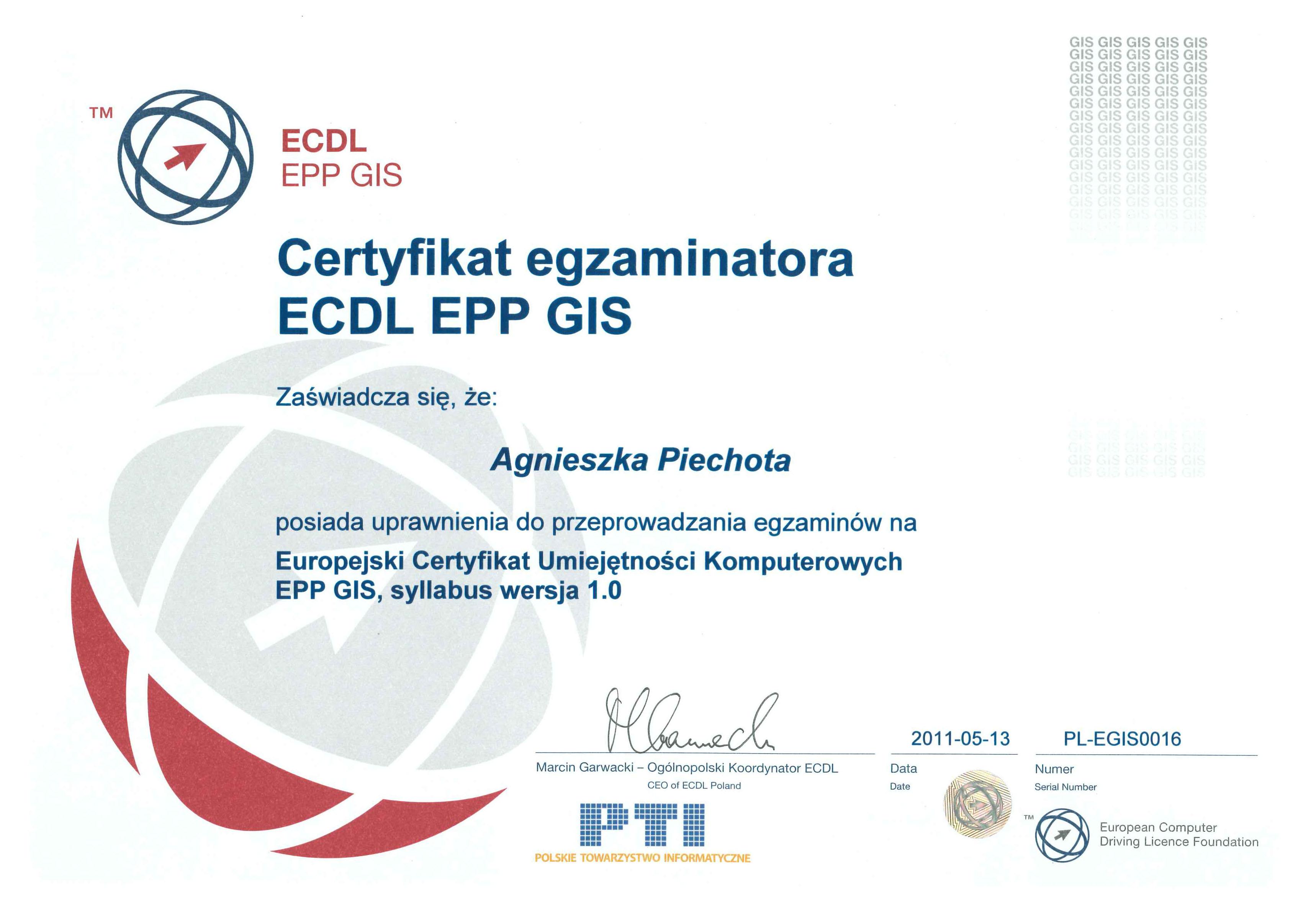 egzamintator ecdl_GIS